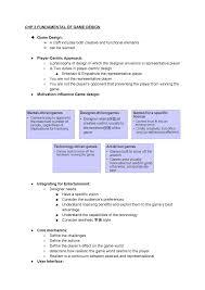 Game Designer Benefits Chapter 3 Fundamental Of Game Design Game Development