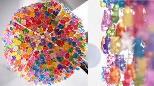 decoration gummy bear chandelier