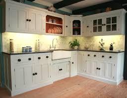 Full Size of White Kitchen Cabinet Wooden Floor Black Granite Countertop  Acrylic Sink Mosaic Tile Backsplash ...