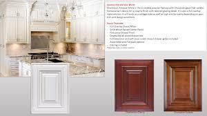 kitchen cabinet charleston white cherry saddle