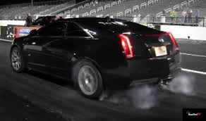 2013 Cadillac CTS-V Coupe - Acceleration Drag Test Video - Launch ...