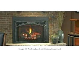 heat n glo 8000clx fortress see through gas fireplace indoor outdoor