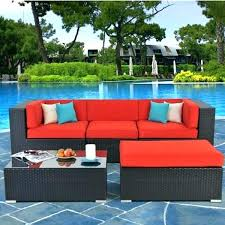 red patio cushions red patio furniture cushions resin wicker target