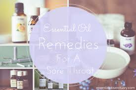 oil remes cure sore throat diy