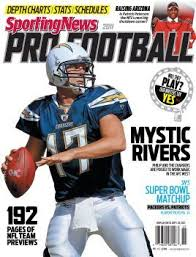 San Diego Chargers Qb Philip Rivers Yearbook May 10 2011