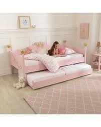 girls twin bed with trundle. Wonderful Twin KidKraft Girls Twin Trundle Bed Pink Trundle Only As Shown To Bed With L