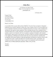 Pipeline Welder Cover Letter Sarahepps Com
