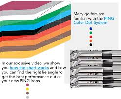 Ping Color Dot System Chart Tgw Com The Golf Warehouse Which Ping Iron Should You