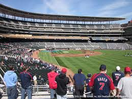 Target Field Seating Chart Prices Target Field View From Great Clips Great Seats Vivid Seats