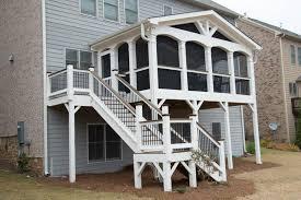 building a deck porch or patio