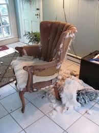 how to re upholster a chair when you have no idea what you are doing
