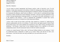 Cover Letter Sample For Business Analyst