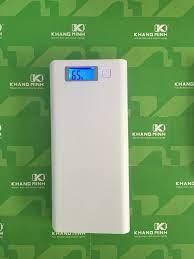 Vỏ và mạch pin sạc dự phòng LCD, màu trắng, loại 8 khay pin 18650., giá chỉ  79,000đ! Mua ngay kẻo hết!