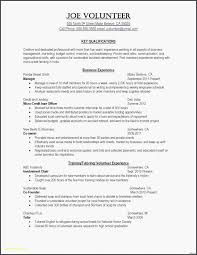First Time Resume Template First Time Resume With No Experience Best Cv Template No Experience