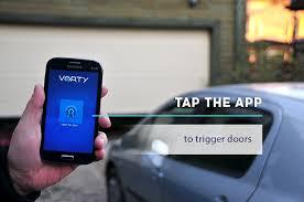open garage door with phoneVorty Go keyless  Indiegogo