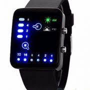 led binary digital watch mens fashion casual sport wrist watches led binary digital watch mens fashion casual sport wrist watches black uk seller