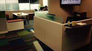 coolest office desk. Skyline Technologies Completed An Extensive Renovation Of Its Office  Recently To Allow For More Open Space Coolest Desk E
