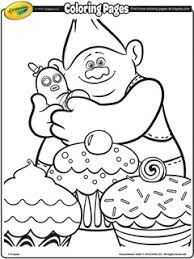 Grandma rosiepuff, the oldest troll. Dreamworks Trolls Free Coloring Pages Crayola Com
