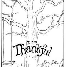 I Am Thankful Coloring Page Sunday