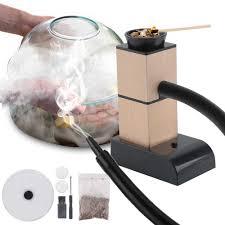 BORUiT Di Động Phân Tử Ẩm Thực Hút Thuốc Súng Lạnh Thực Phẩm Máy Tạo Khói  Thịt Đốt Cháy Máy Hút Khói Nấu Ăn Cho Bếp Nướng Hút Mùi Gỗ