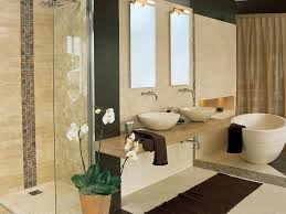 Bathroom:Master Bathroom Idea With Spa Theme Idea Spa Bathroom With Natural  Decorating Idea