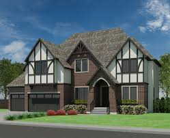 tudor house plans. Tudor Abbey-3499 House Plans E