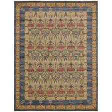 edinburgh carnation blue 12 2 x 16 0 area rug