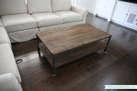 ... Family Room Decor Update The Sunny Side Up Blog Restoration Hardware  Coffee Table Ottoman Wood Pl