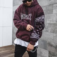 <b>Men's casual fashion printed</b> hooded sweater TT228 ...