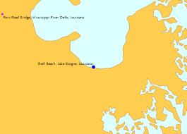 Shell Beach Lake Borgne Louisiana Tide Chart