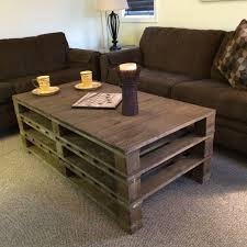 wood pallet coffee table diy pallet coffee table plans