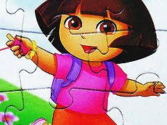 <b>Cute Girl</b> Jigsaw Puzzle - free online game