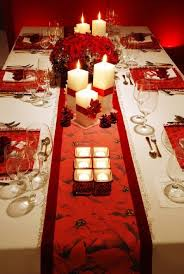 red and white table decorations. Christmas Dinner Table Decorations Inspirational Ideas Red And White E