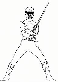 Power Rangers Coloring Pages Printable Page For Kids Legendary