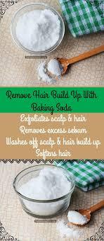 hair using baking soda