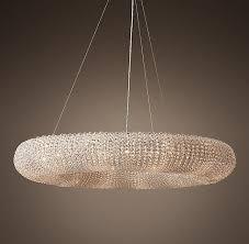 suspended round halo chandelier s bookmarks design