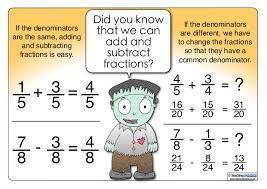 Image result for subtracting fractions cartoon