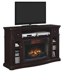 Alexander Infrared Electric Fireplace TV Stand in Roasted Walnut -  32IMM2995-W509