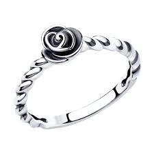 <b>Позолоченное кольцо SOKOLOV из</b> серебра something