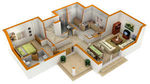 perfect 3d house blueprints and plans with 3d floor plans 1 2 3 4