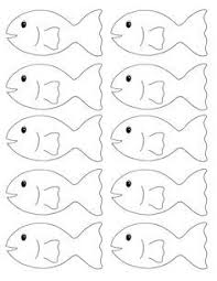 colored fish printables. Simple Fish Go Fish Printable Game In Colored Printables M
