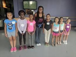 Bianca-Bonner-with-students-Charlotte-Ballet - Q City Metro