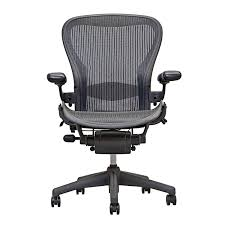 com herman miller aeron executive office chair size b fully adjule arms lumbar support open box home kitchen