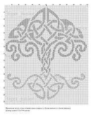 Image Result For Tree Of Life Knitting Chart Intarsia