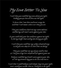 Free Sample Love Letters To Wife Adorable A Love Letter For Him Erkaljonathandedecker