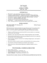 Transportation Resume Sample All Trades Resume Writing Service