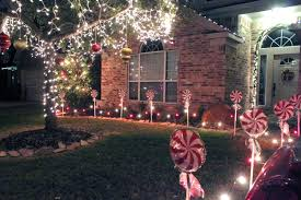 Candy Christmas Lights Christmas Decoration Diy Candy Cane Peppermint Post