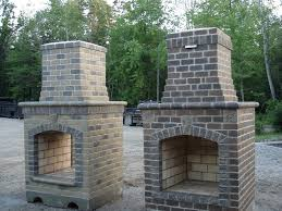large chiminea outdoor fireplace designs