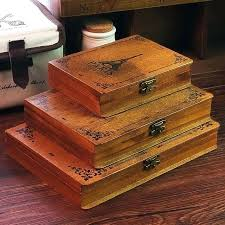 Large Wooden Boxes To Decorate Large Wooden Storage Box Antique Stand Wooden Box Glass Cover 56