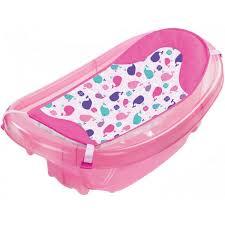 summer infant sparkle n splash bath tub pink o baby